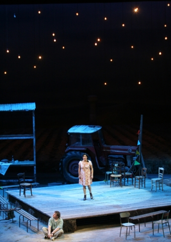 Scénographie : <strong>Chantal Thomas </strong>- Mise en scène : Laurent Pelly - Théâtre du Mariinsky, St Pétersbourg- 2011